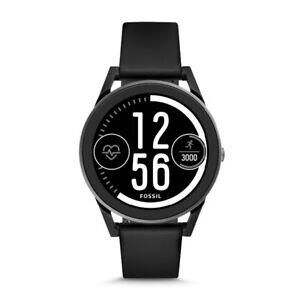 Fossil Q control smartwatch. Black silicone version.