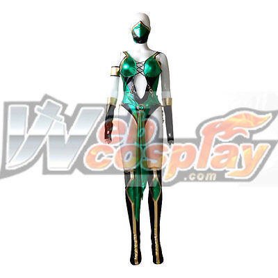 Mortal Kombat Female Costumes (Mortal Kombat 9 Jade Cosplay Costume Custom)