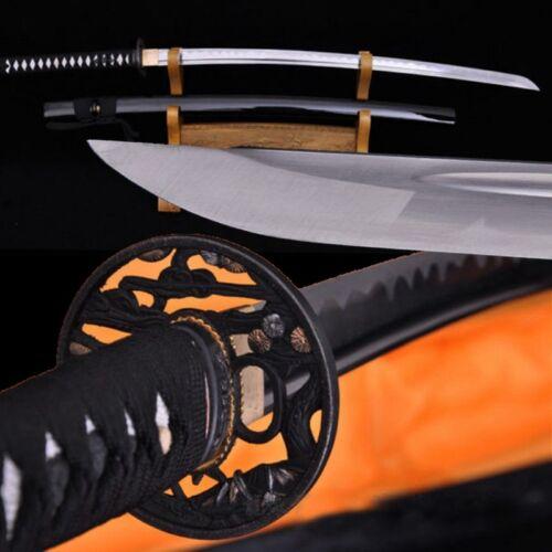 High Carbon Steel Japanese Battle ready Samurai Sword Katana Sharp blade #1986