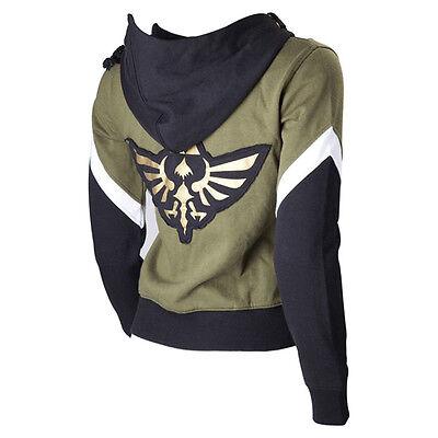 Link Hoodie Zipper Coat Jacket Sweatshirt Cosplay Costume (Legend Of Zelda Link-hoodie)
