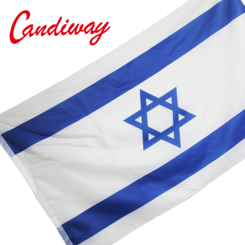 STAR ISRAEL National FLAG Jewish Star Israeli Country Banner Israel flag 3*5