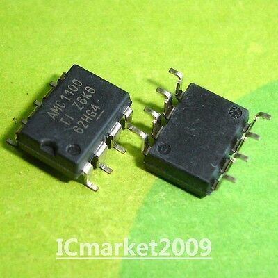 10 Pcs Amc1100dubr Smd-8 Amc1100 Smt Fully-differential Isolation Amplifier