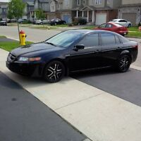 2004 Acura TL,Black on Black,221000 km,Automatic,Fuly Loaded