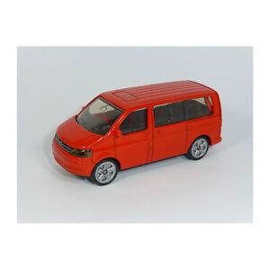 Siku 1070 VW T5 Multivan Facelift rot - NEUE FARBE (Blister) Modellauto NEU! °