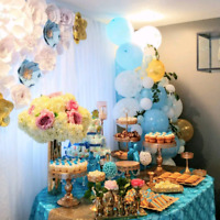 BABY SHOWER & BRIDAL SHOWER DECOR - 2018 BOOKING!!