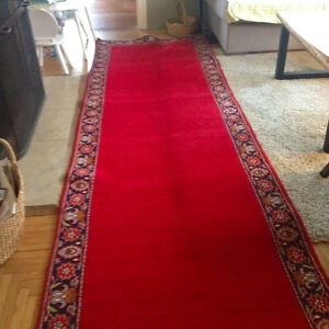 New Persian Wool Red Rug
