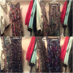 high/low dresses LARGE