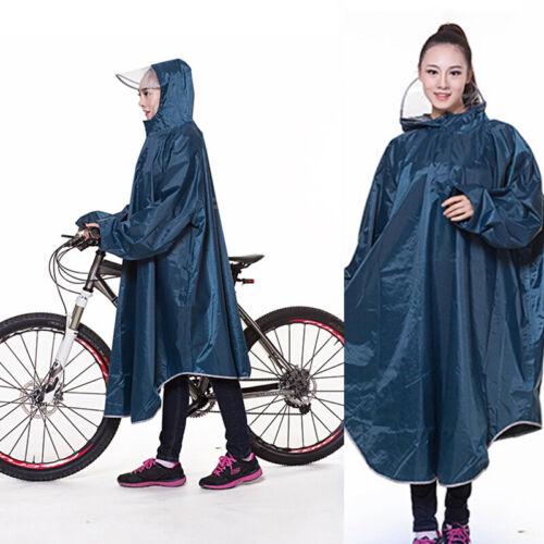 Cycling Rainproof Raincoat Bike Bicycle Poncho Rain Cape Gea