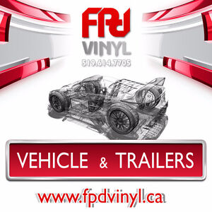 Get NOTICED! Vehicle & Trailer Wraps and Lettering