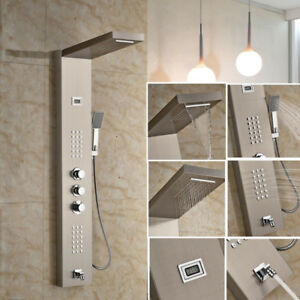 55-034-Shower-Panel-Tower-Handheld-Shower Douche