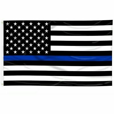 (10 PACK) Thin Blue Line Police Lives Matter Law Enforcement American USA FLAG
