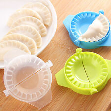 DIY Dumpling Jiaozi Maker Home Kitchen Tools Easy Device Mold Gadgets NEW