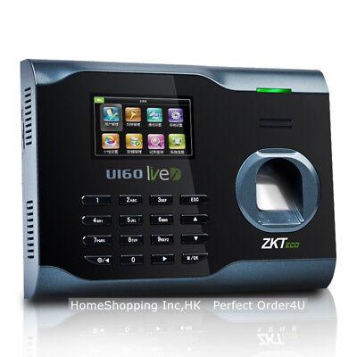 Zkteco Fingerprint Time Attendance Wifi Fingerprint Time Clock U160 Tcpipusb