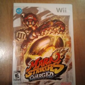 Mario Strikers Charged Wii game