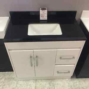 "36"" vanity with counter top"