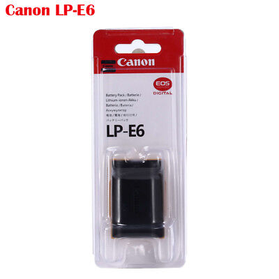 Genuine Canon LP-E6 Replacement Battery Pack For EOS 60D 5D2 5D3 7D - Genuine Canon Replacement