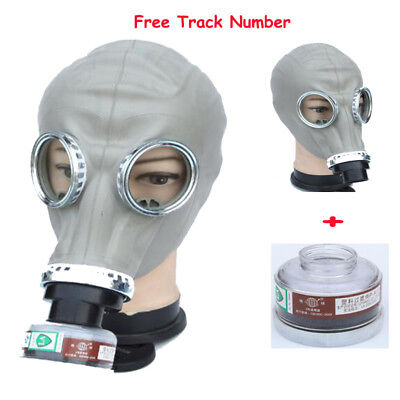 2 In 1 Painting Spray Military Soviet Full Face Gas Mask Respirator Filter Mask
