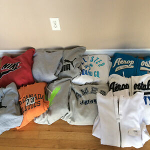 Men's Hoodies 11. Size large and XL