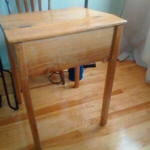 Pupitre, petit bureau, bibliothèque Ikea, Table de cuisine