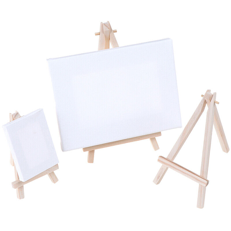 mini wooden tripod easel display painting stand