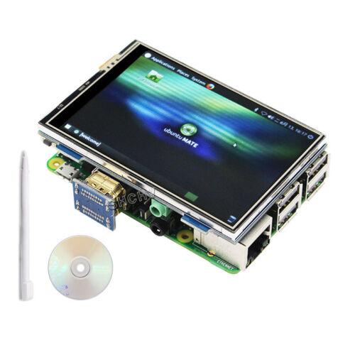 3.5 inch 480x320 Raspberry Pi 2 3 B+ Touch Screen HDMI LCD Display Monitor