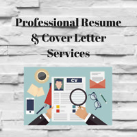 Professional Resume & Cover Letter Writing Services