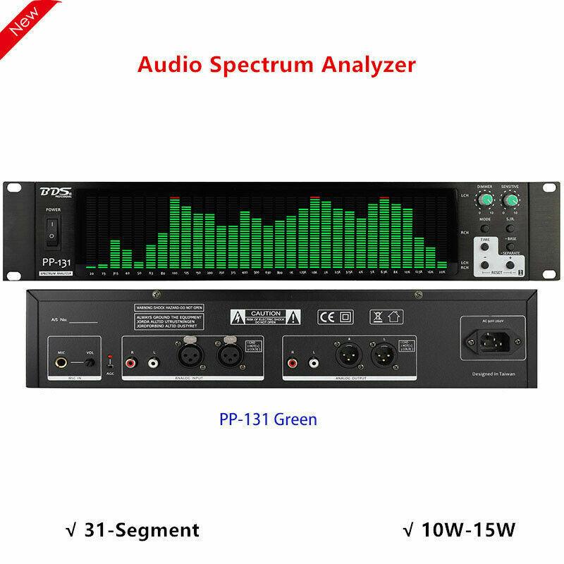 PP-131 Audio Spectrum Analyzer Display Music Spectrum Indicator VU Meter top