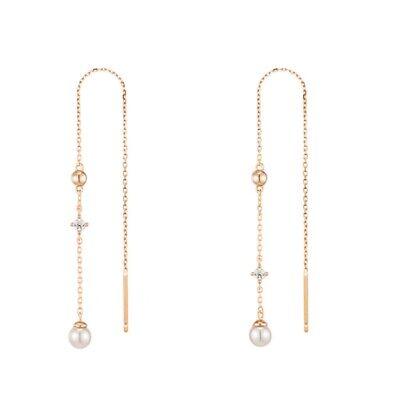 [J.ESTINA] Silver 925 LALA J Line Earrings JJPJEI9AF515SR0000 K-beauty