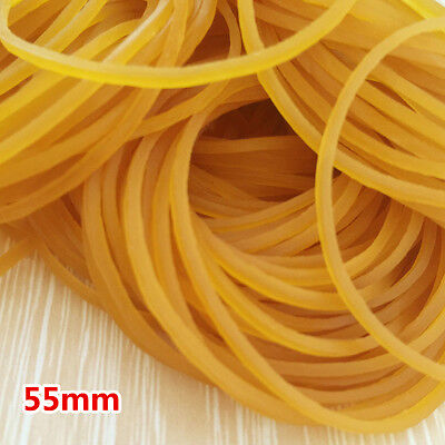 New 50pcs Rubber Bands 55mm Rubber Band Elastic Heavy Duty Office Strong
