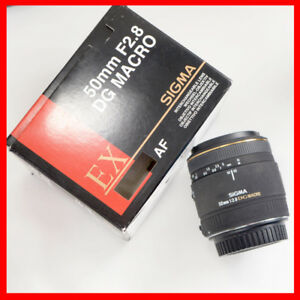 Sigma 1:1 Macro 50mm F2.8 lens for CANON