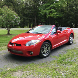 Mitsubishi Eclipse Spyder GT Convertible 2007 Tiptronic 6 cyl.