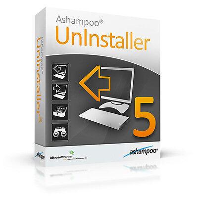 Ashampoo UnInstaller 5 deutsche Version ESD Download