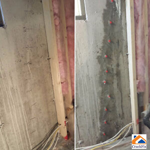Permanent Foundation Crack Repair, Insured, WCB covered Edmonton Edmonton Area image 5