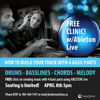 FREE CLINIC! Improve YOUR ability to make music in 90min!