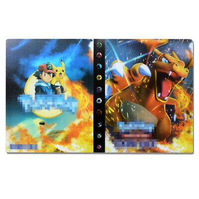 240 Cards Holder Pokemon Cards Album Binder List DIY Collectors Folder Book