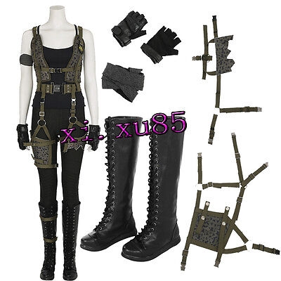 Resident Evil: The Final Chapter Alice Cosplay Costume Halloween Customize Boots