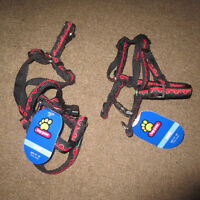 2 BRAND NEW DOG HARNESSES SIZE SMALL