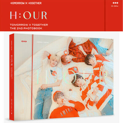 TXT H:OUR The 2nd Photo Book (212 p) DVD+Photo Card+Book Mark+Poster+GIFT SEALED