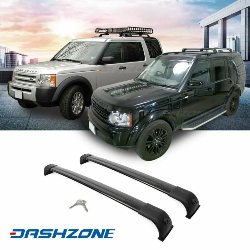 Cross Bar Fits Land Rover Discovery LR3 LR4 05-16 luggage baggage Roof Rack Rail