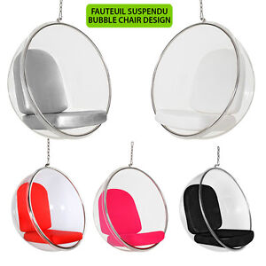 fauteuil bulle suspendu bubble chair design neuf ebay. Black Bedroom Furniture Sets. Home Design Ideas