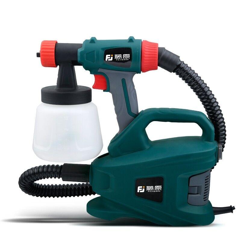 800W Electric Spray Gun Latex Painter Sprayer Paint Painting Adjustable Flow