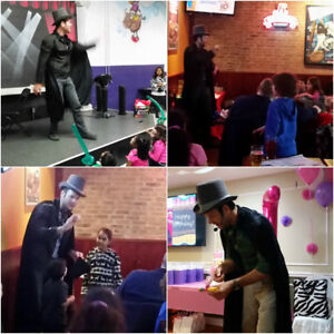 best kids magician. Balloons and face painting
