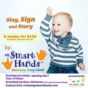 Baby sign language $130 for 8 weeks