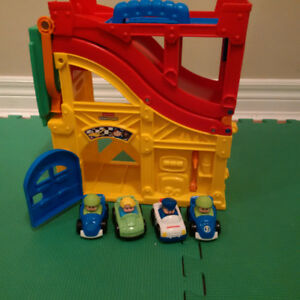 Little People Racing Track