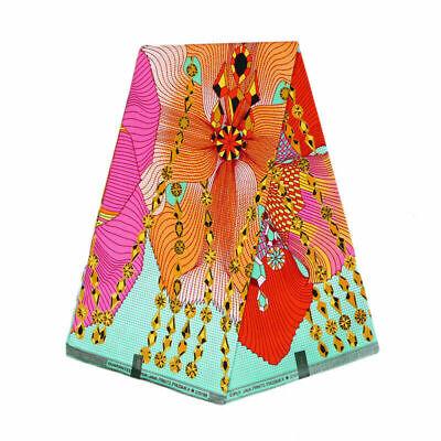 African Ankara Fabric Wax Print Hojilou Hollandais Cotton Real Dutch Sewing US