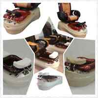 Pedicure Spa chair,Pipeless, salon furniture & Equipment