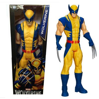 Marvel Super hero Series Spider-man Thor Wolverine 12 Inch Figure Kid Toys Gift