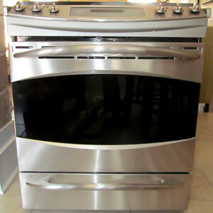GEProfile SS Slide-in range - Excellent condition