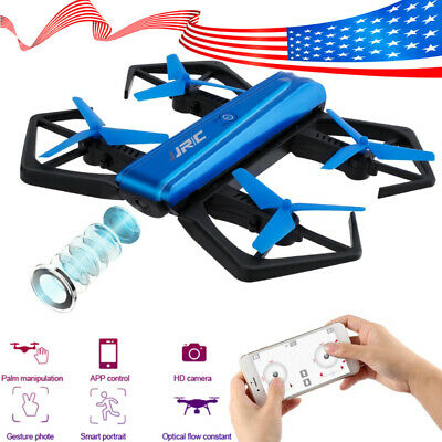 FPV Drone with Camera 720P RC Quadcopter WiFi Gravity Sensor Foldable Flying Toy