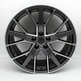 "22"" RS6-D style alloy wheels suitable for an Audi Q5 ETC"